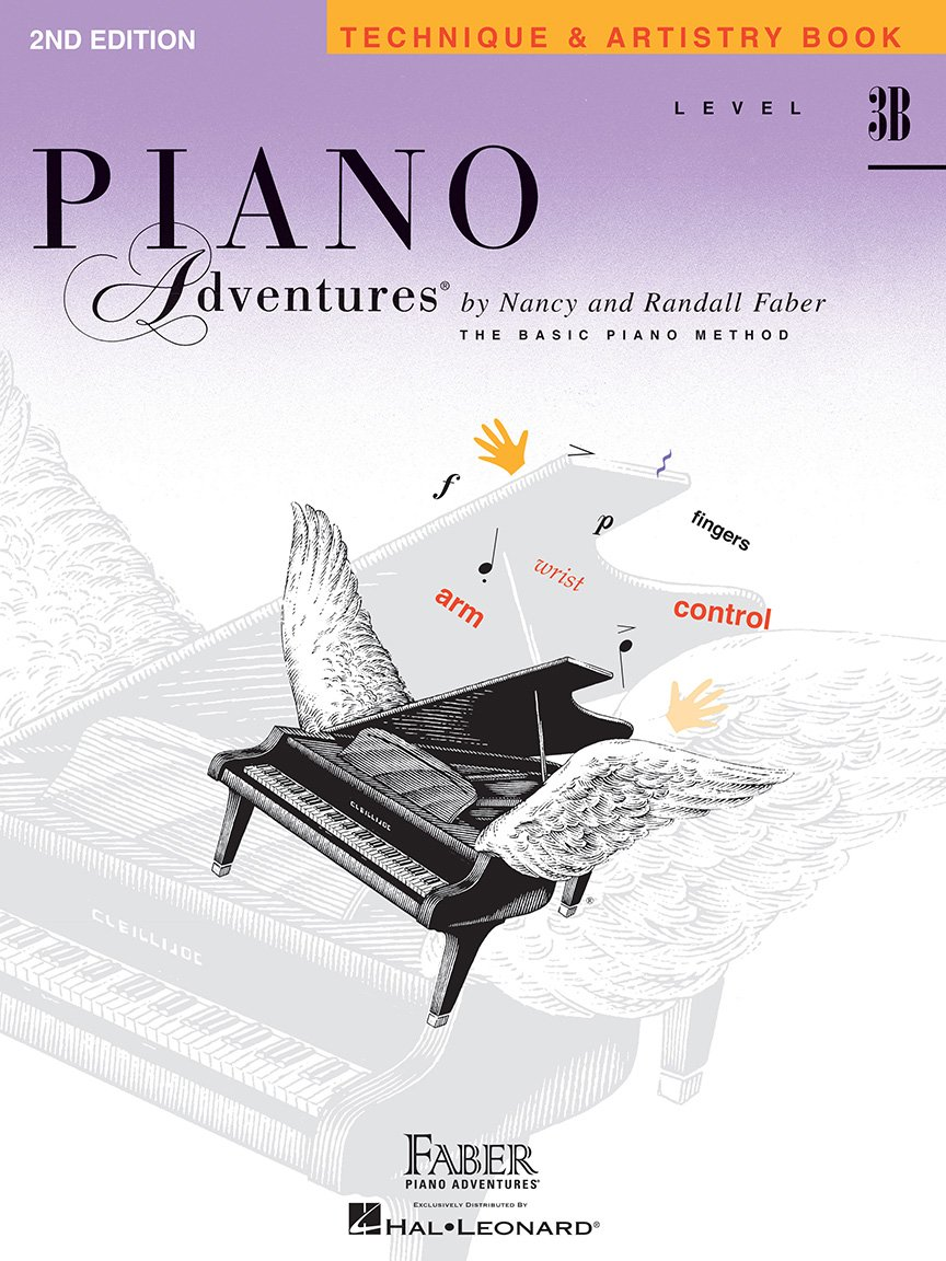 Level 3B Technique & Artistry Book 2nd Edition Piano Adventures