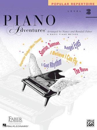 Level 3B Popular Repertoire Book Piano Adventures