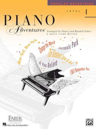 Level 4 Popular Repertoire Book Piano Adventures