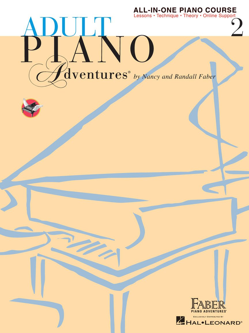 Adult Piano Adventures All-in-One Piano Course Book 2 Book with Media Online