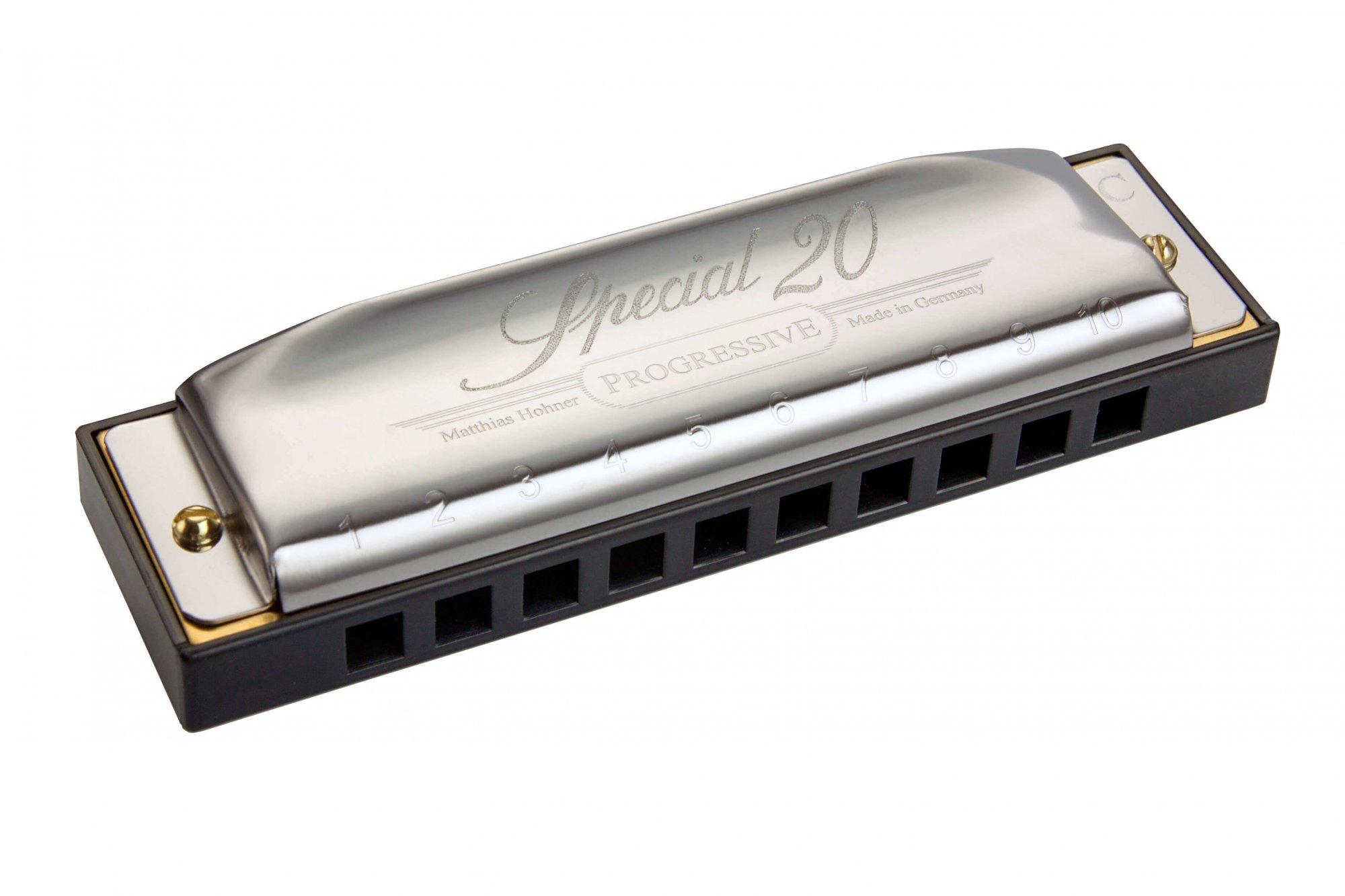 Hohner Progressive Series Special 20 Harmonica - model 560
