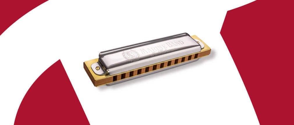 Hohner Marine Band Series  Marine Band 364/24 12-hole harmonica
