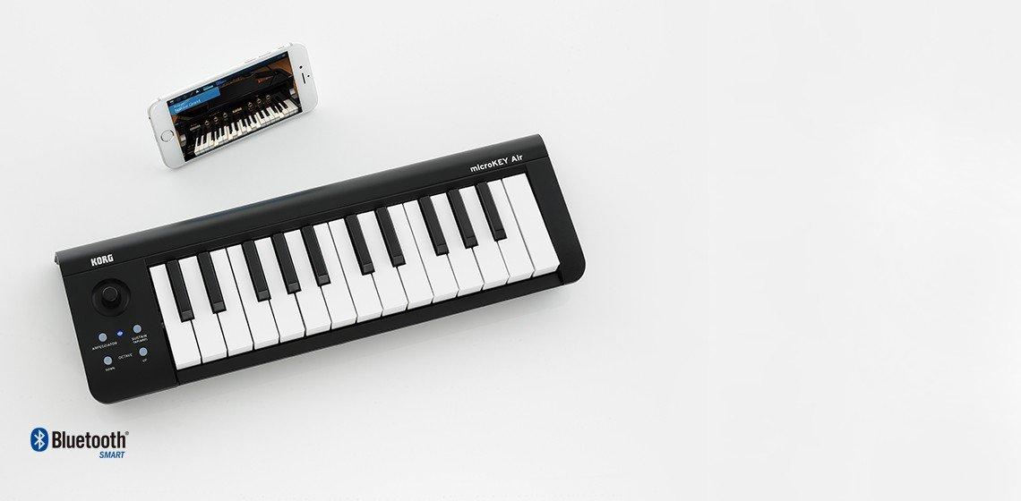 Korg microKEY Air-37 Bluetooth MIDI Keyboard
