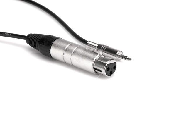 Hosa MIT-156 Impedance Transformer XLR3F to 3.5 mm TRS
