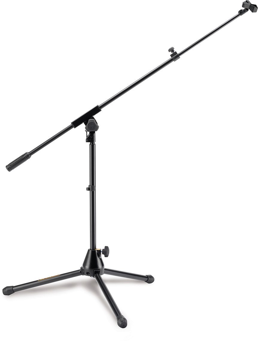 Hercules MS540B Low Profile Mic Stand with Telescoping boom