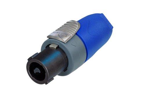 Neutrik NL2FX 2 pole speaker cable connector chuck type strain relief