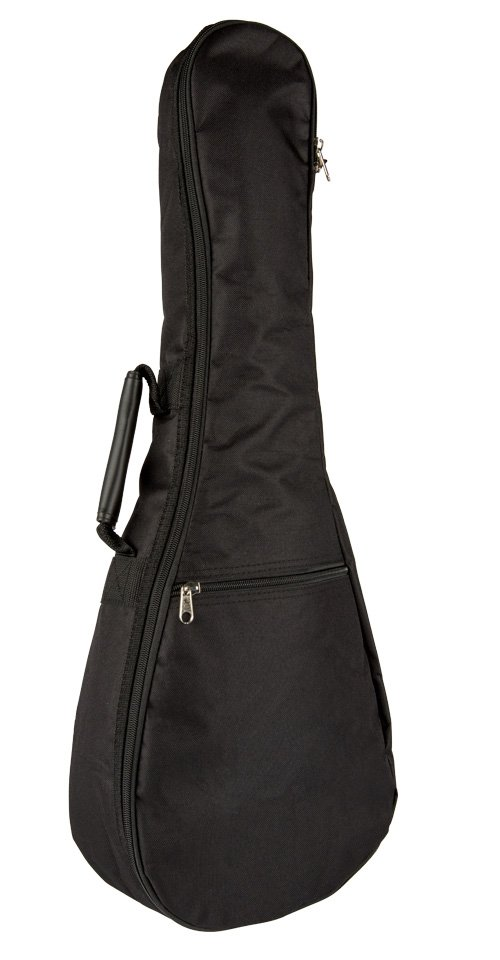 Lanikai TNB-B Ukulele Bag - Baritone - Black Nylon no logo 5mm bag