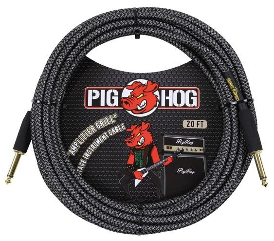 Pig Hog PCH20AG 20 ft instrument cable - Amplifier Grill - 7mm woven