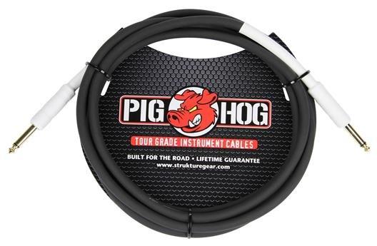 Pig Hog PH10 10 ft instrument/line cable - 8mm rubber jacket