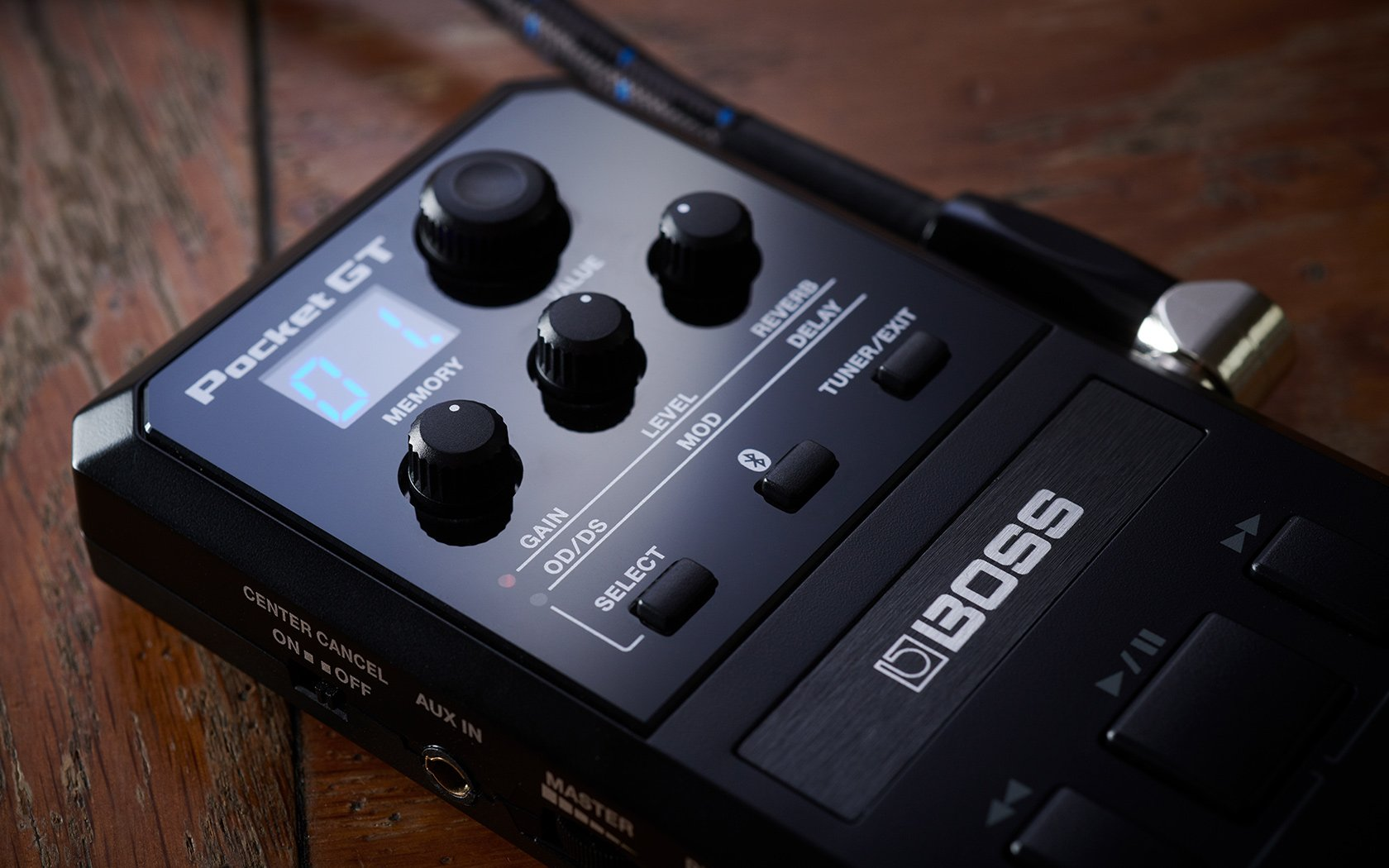 Boss Pocket GT - Pocket Effects Processor with Built-In YouTube Browser