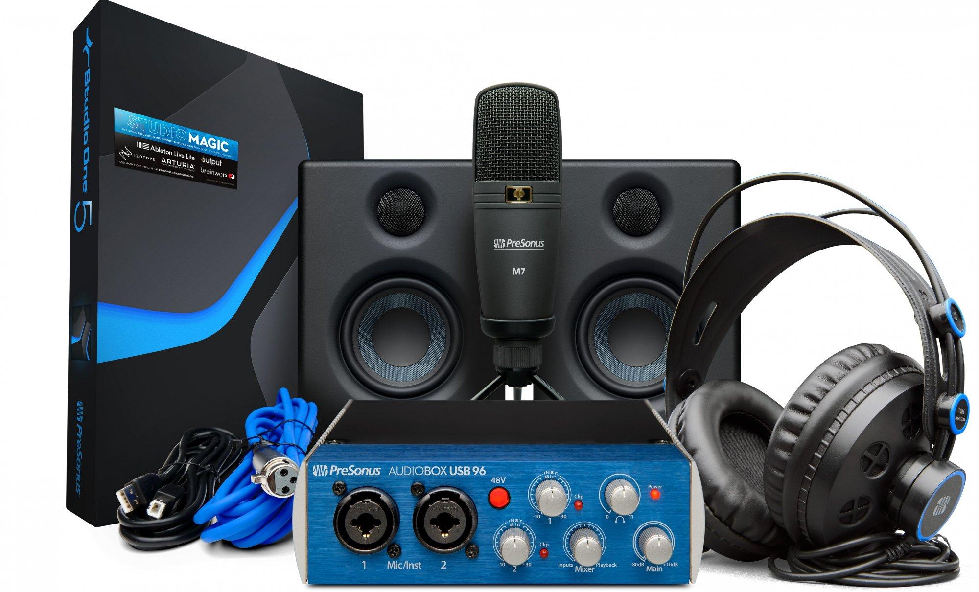 Presonus AudioBox Studio Ultimate Bundle - 25th Anniversary Edition New!