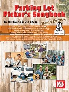 Parking Lot Picker's Songbook - Banjo #20850M (Book + Online Audio)