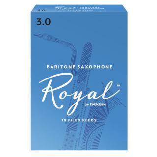 Royal Baritone Sax Reeds - 2.5 10-pack