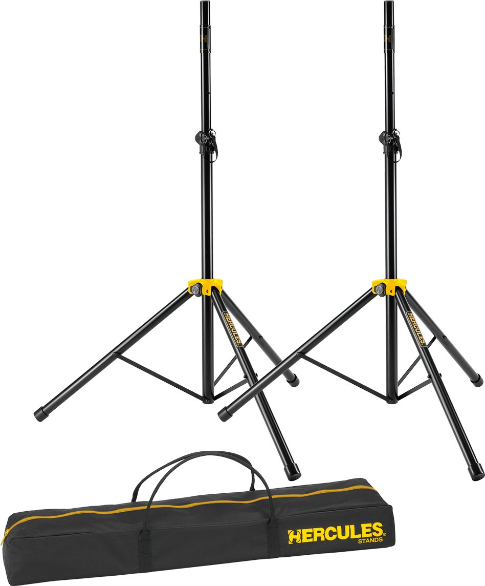 Hercules SS200BB Stage Series Speaker Stand with Smart Adaptor with Bag (Twin Pack)