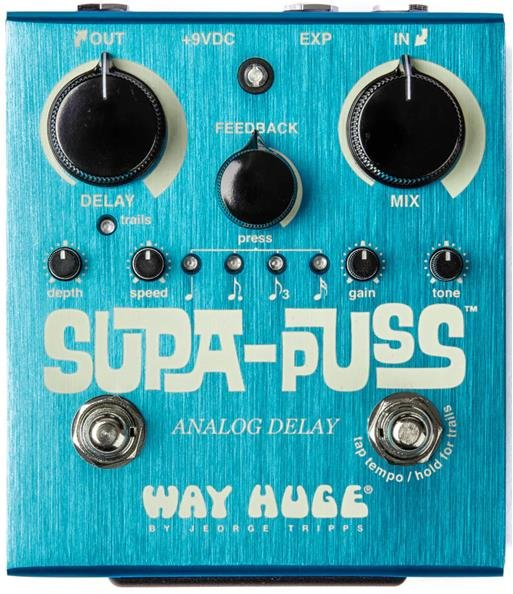 WAY HUGE® SUPA-PUSS ANALOG DELAY