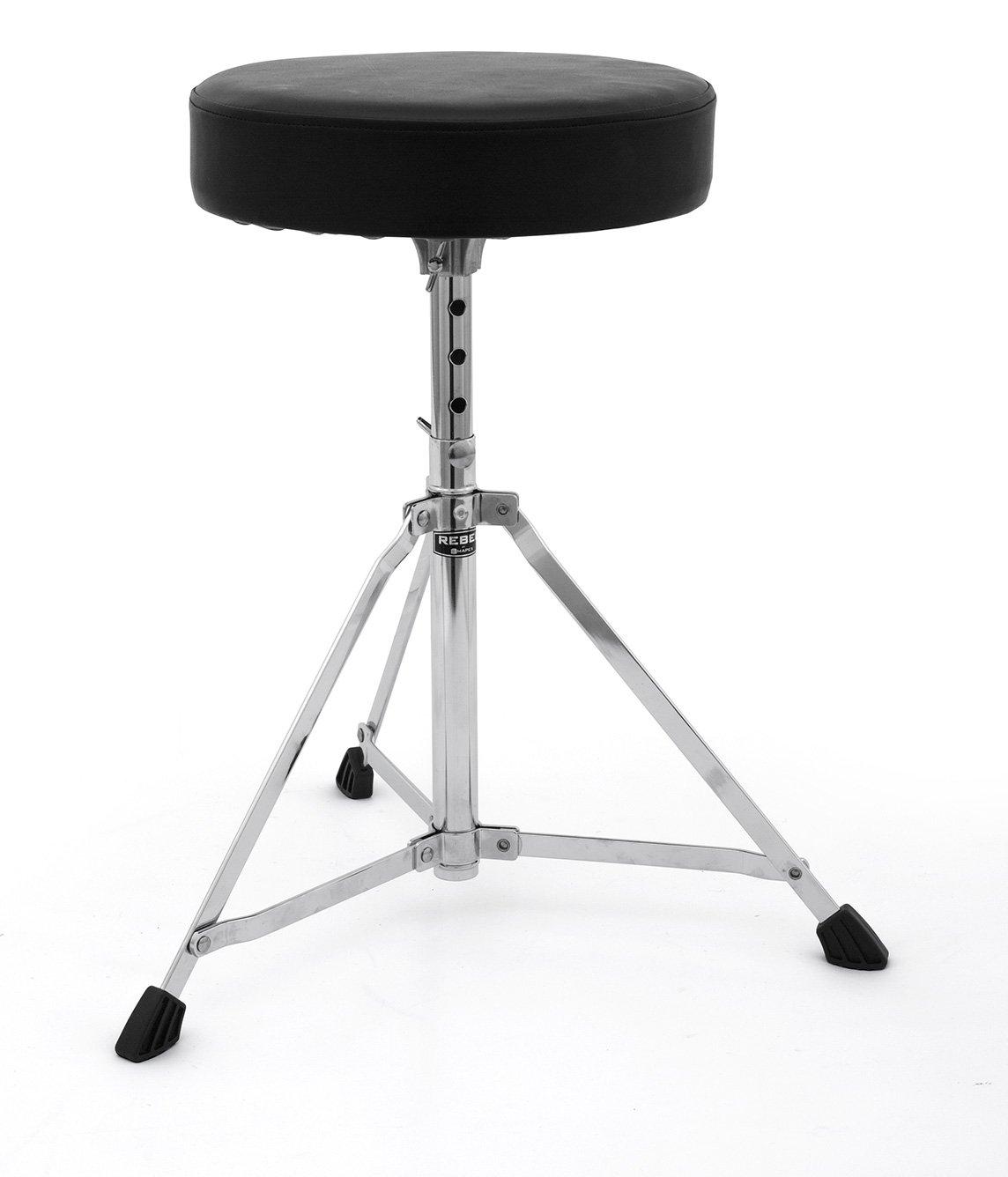 Mapex T200-RB Drum Throne Rebel Single braced 3 leg round seat