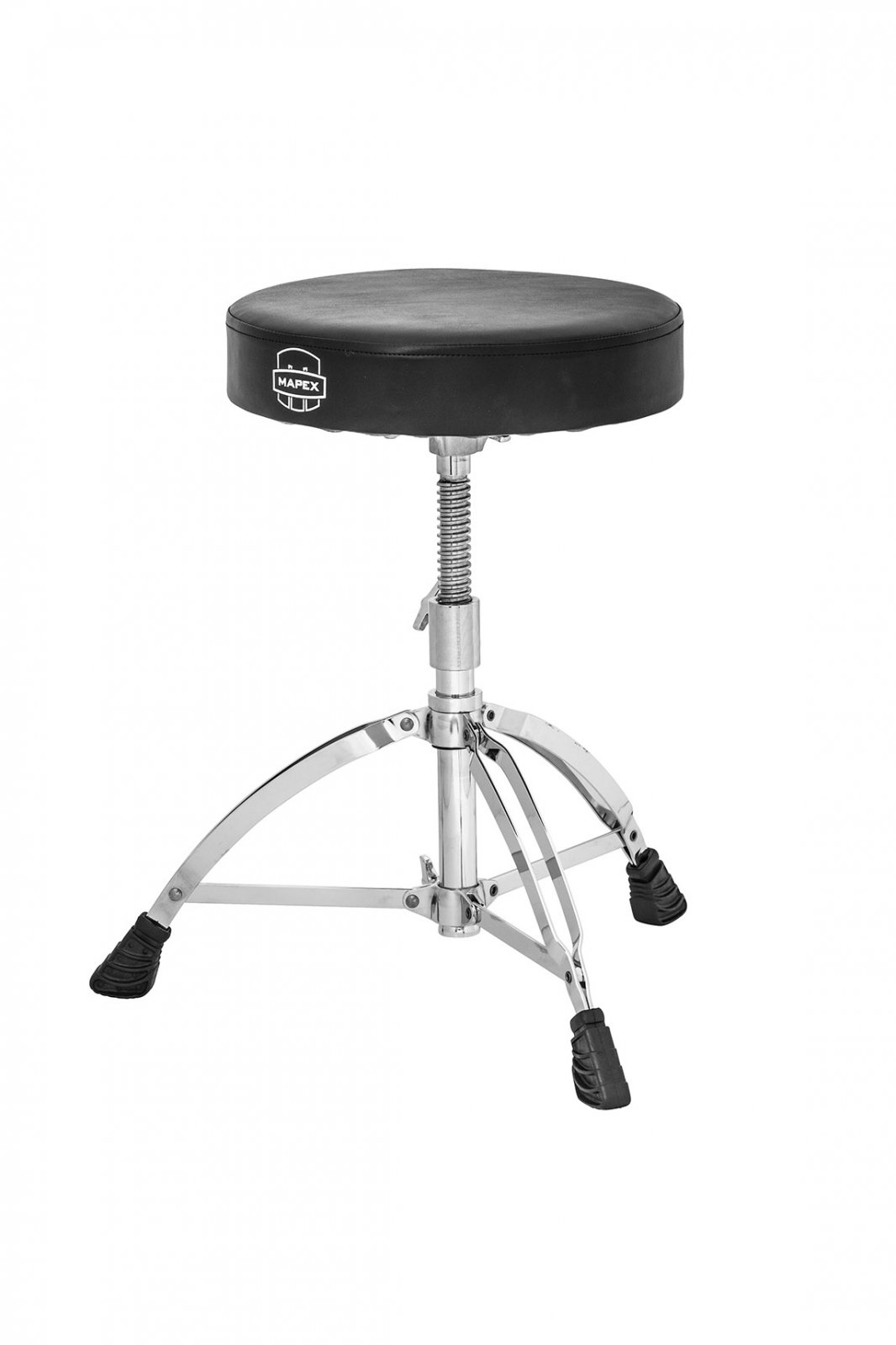 Mapex T561A Drum Throne - Double-braced, Round-seat, Spindle height adjust