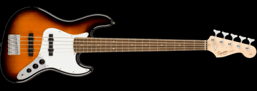 Fender Squire Affinity Series Jazz Bass V Sunburst - Includes Gig Bag (Pre-Owned)
