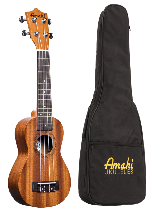 Amahi UK250S Amahi Select Mahogany Top, Back & Sides, Peanut Shape