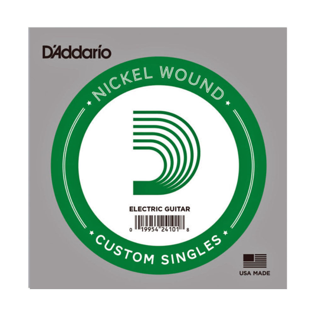 D'Addario NW019 Nickel Wound Electric Guitar Single String .019