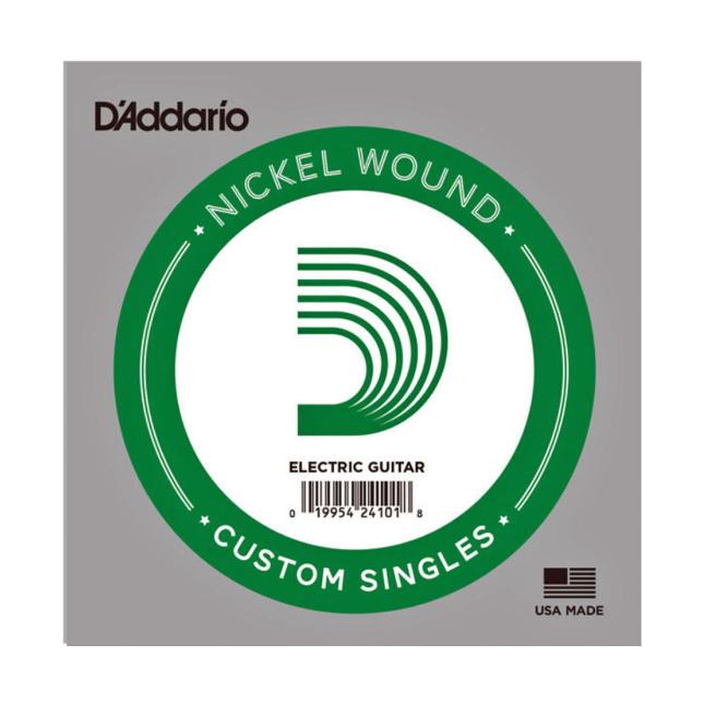 D'Addario NW021 Nickel Wound Electric Guitar Single String .021
