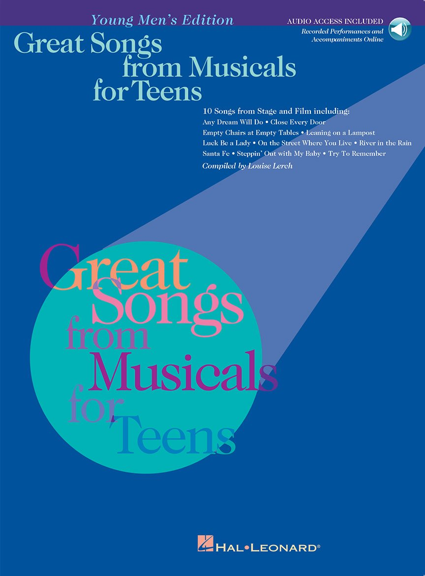 Great Songs from Musicals for Teens Young Men's Edition