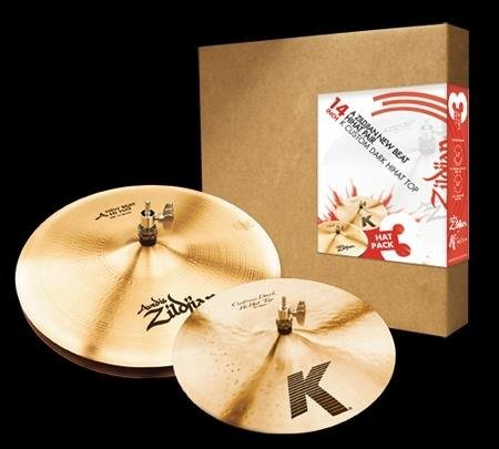 Zildjian 14 A Zildjian/K Zildjian 3-Hat Pack
