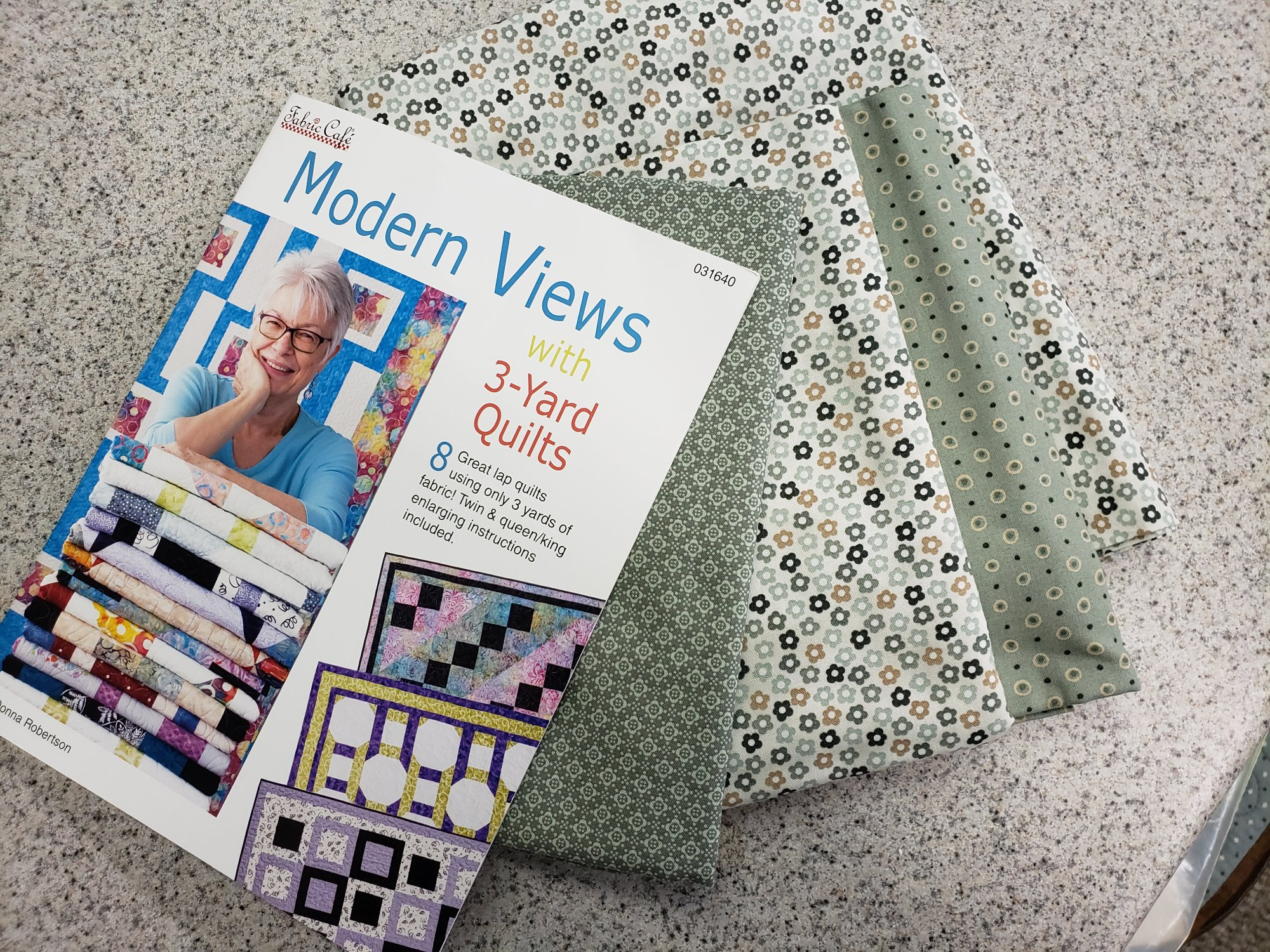 Hannah Basic 3-Yard Quilt Kit - Modern Views Pattern Book