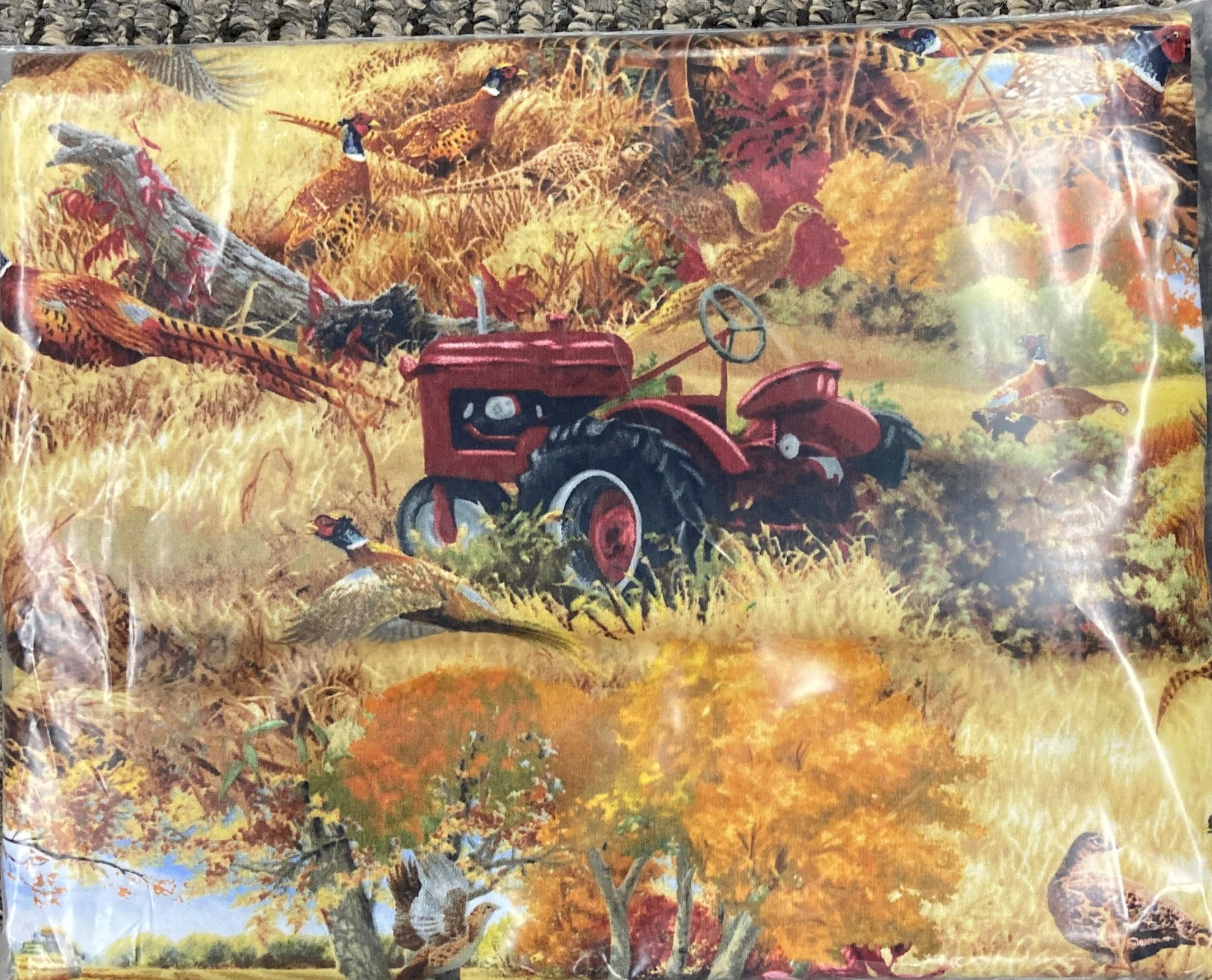 Pheasant Run Backing - Red Tractor