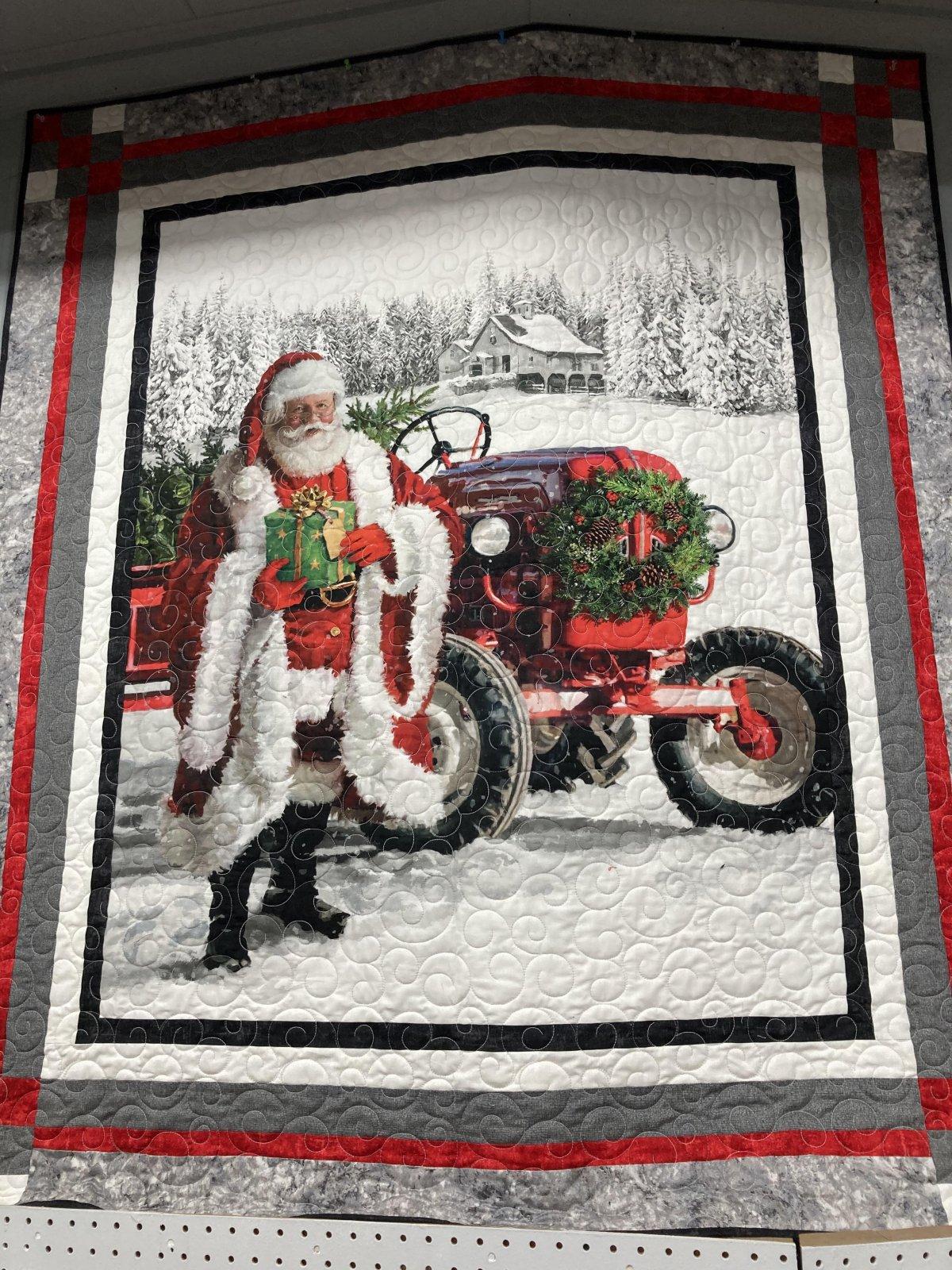 Here Comes Santa Panel Kit 51 X 60