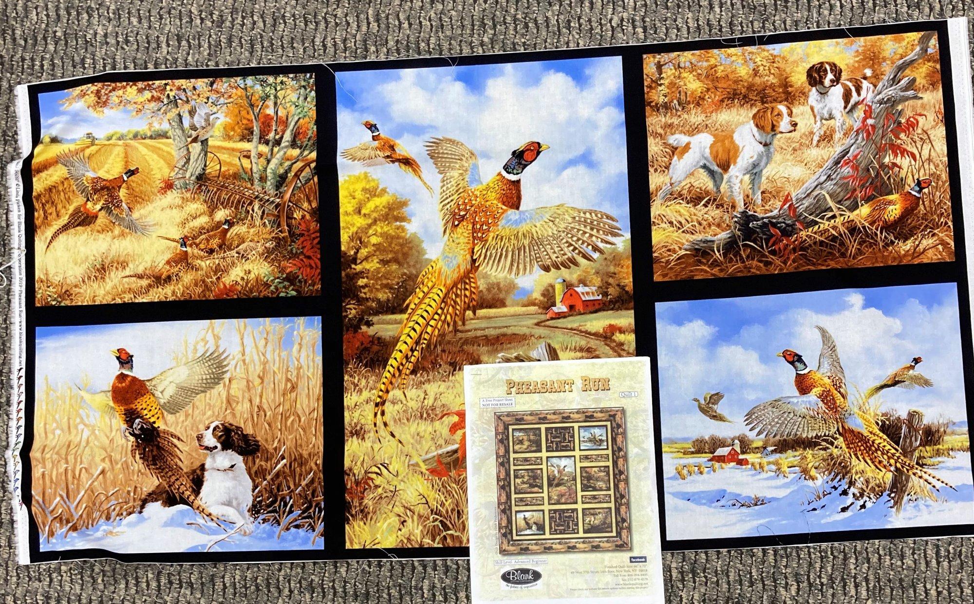 Pheasant Run Quilt Kit 66 x 72