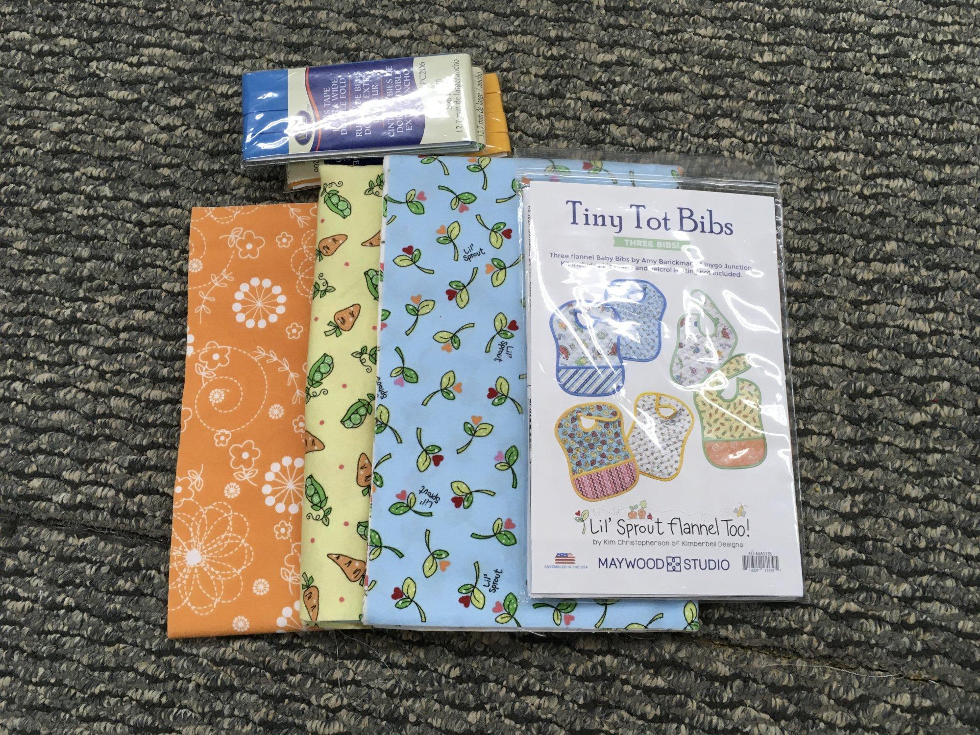 Tiny Tot Bibs Kit