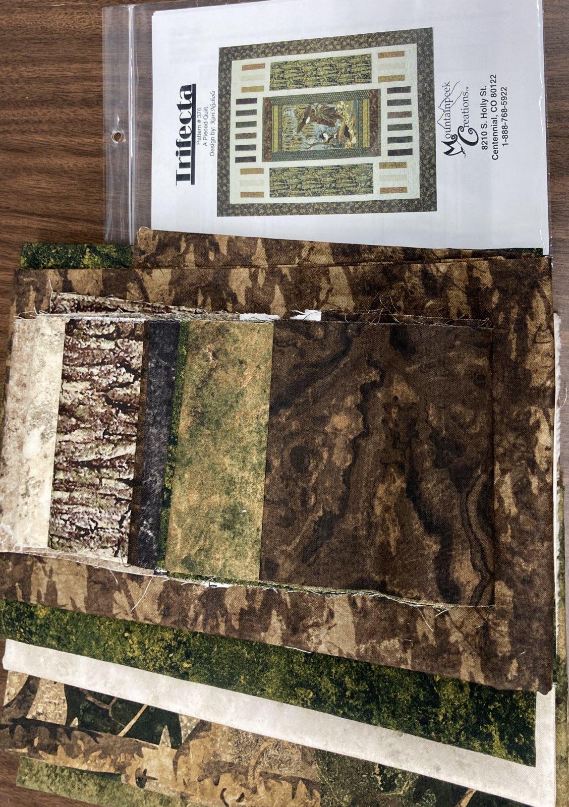 Trifecta Quilt Kit 61.5 x 77.5