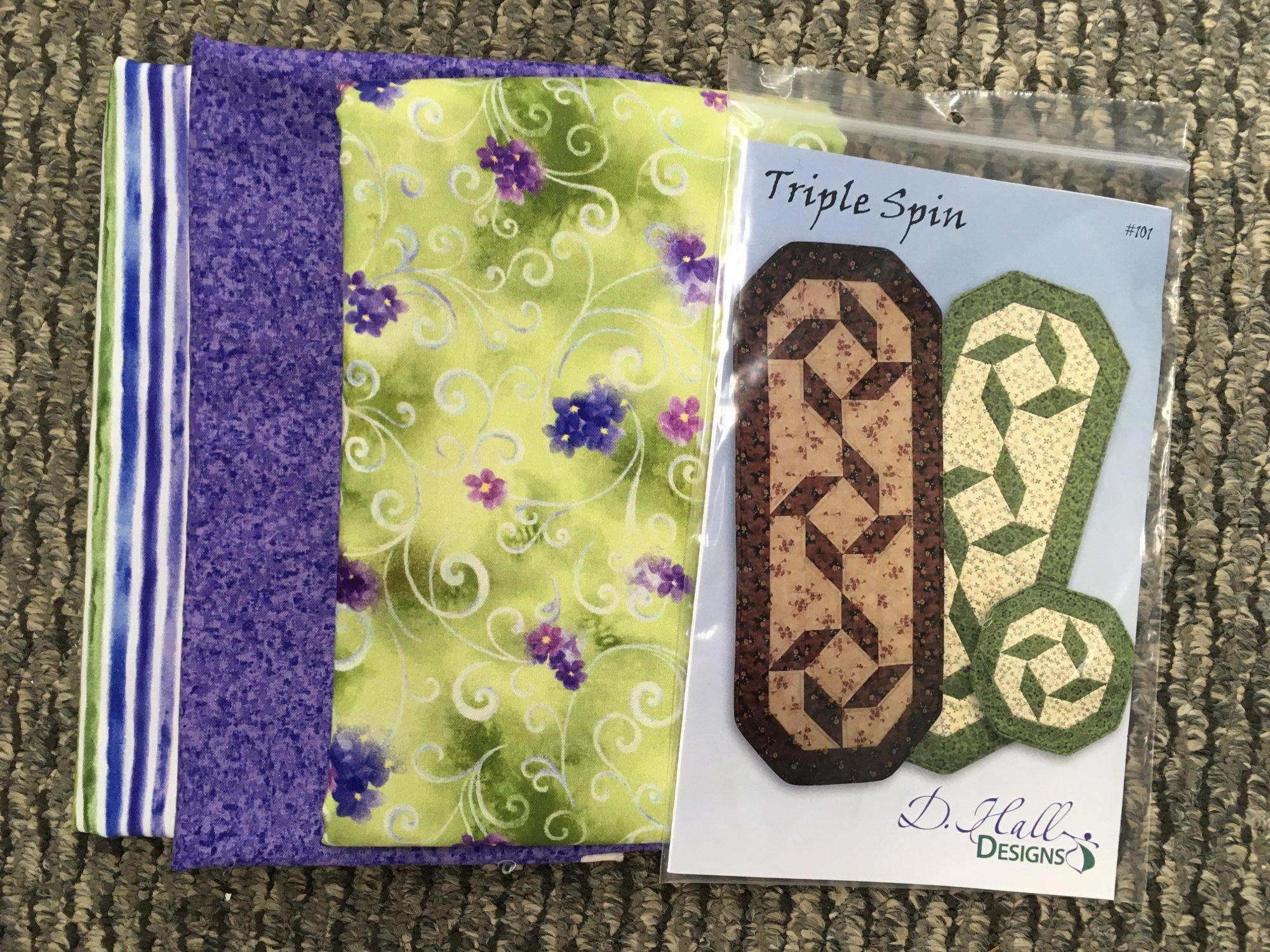 Triple Spin Runner Kit Purple