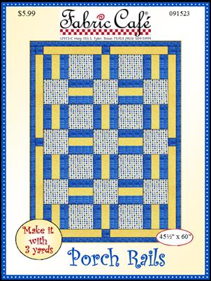 Porch Rails 3 Yard Quilt Pattern