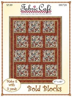 Bold Blocks 3 Yard Quilt Pattern