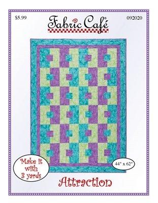 Attraction 3 Yard Quilt Pattern