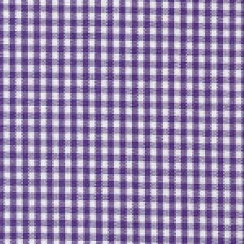 Purple Gingham 1/6 Check 58