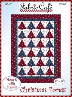 Christmas Forest 3 Yard Quilt Pattern