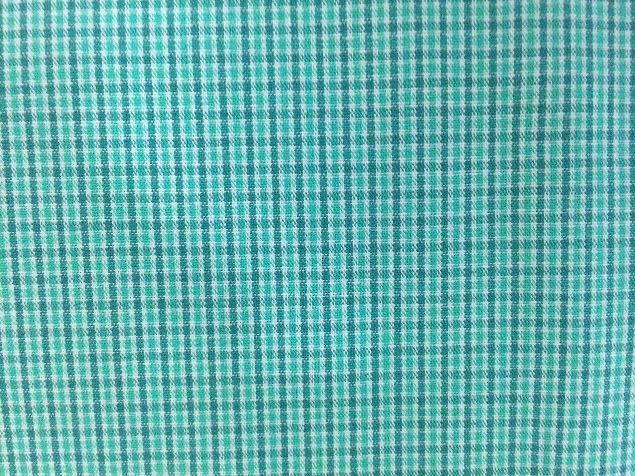 Green Micro Tri-Check 58