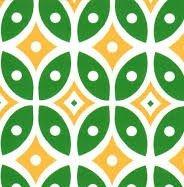 Green Yellow Geometric 54