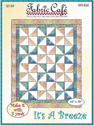 It's A Breeze 3 Yard Quilt Pattern