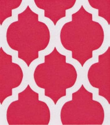 Quatrefoil Pink - Medium 58