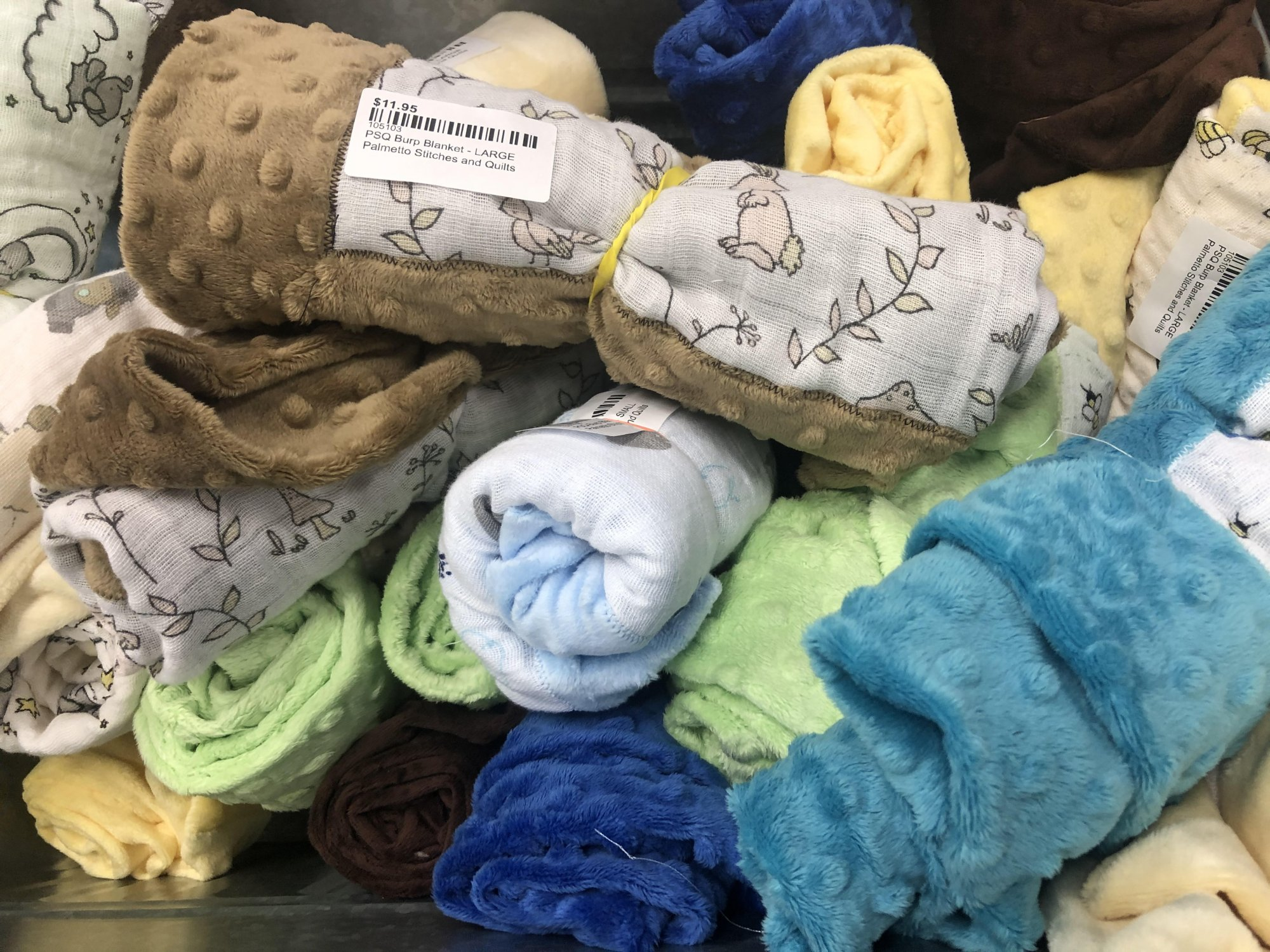 PSQ Burp Blanket - LARGE