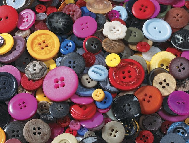 Buttons Assorted