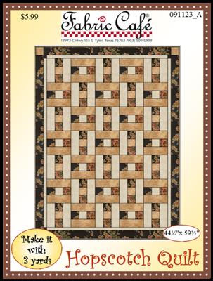 Hopscotch 3 Yard Quilt Pattern