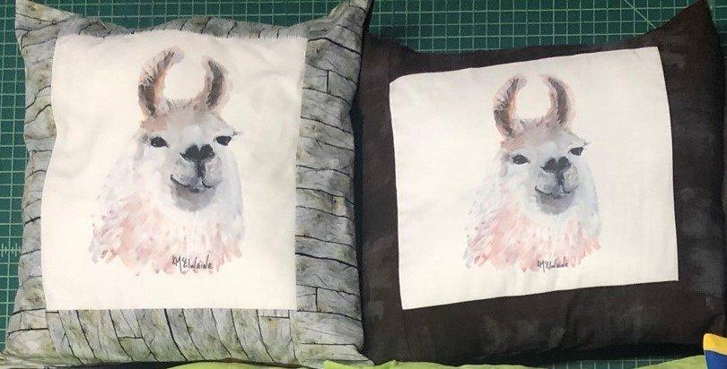 PSQ pillow-llama