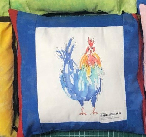 PSQ pillow-chicken