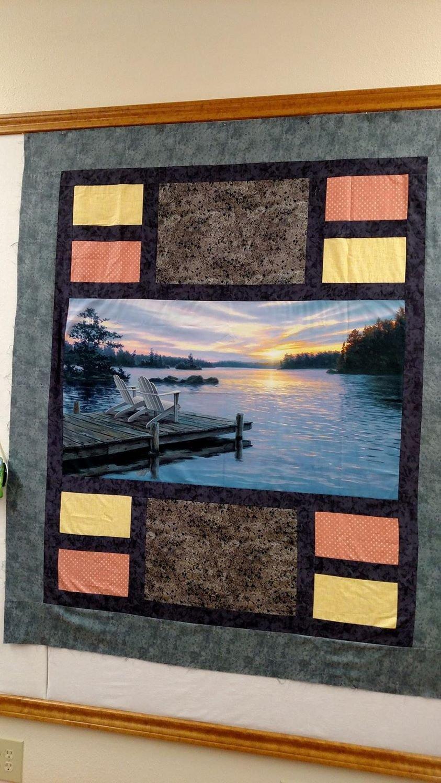 Sunrise in Paradise Quilt Kit 0