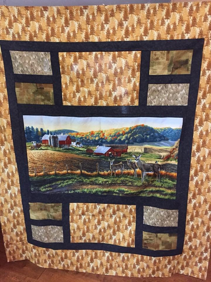 Country Morning Quilt Kit 0
